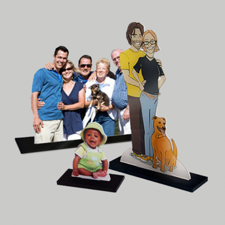 3D Photo Statuettes