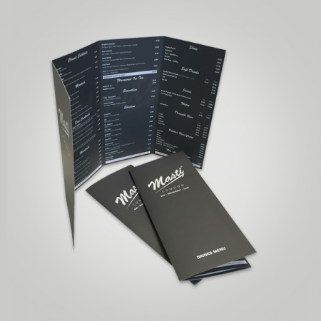 4 Panel Accordion Fold Brochure