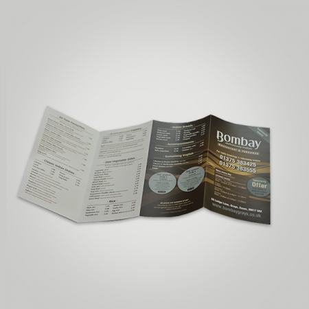 4 Panel Fold Brochure