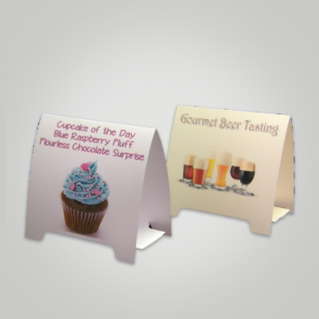 A Frame Standard Table Tents