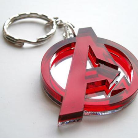 Alphabet Cut Keychains