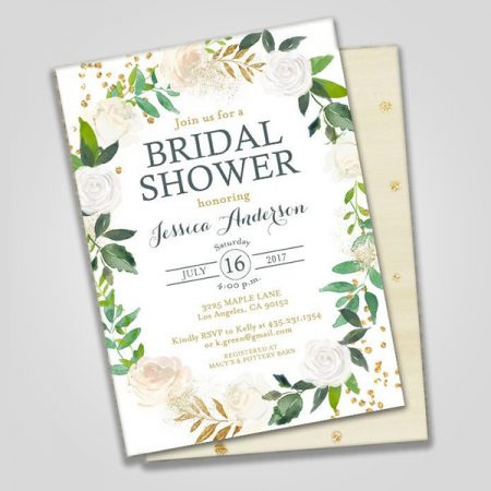 Bridal Shower Invitation Cards