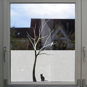 Glass window film