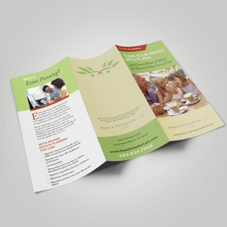Classic Tri Fold Brochure