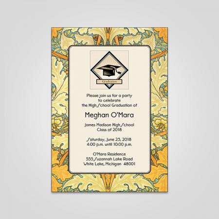 Convocation Invitation Cards