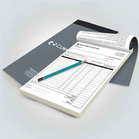 Invoice Notepads
