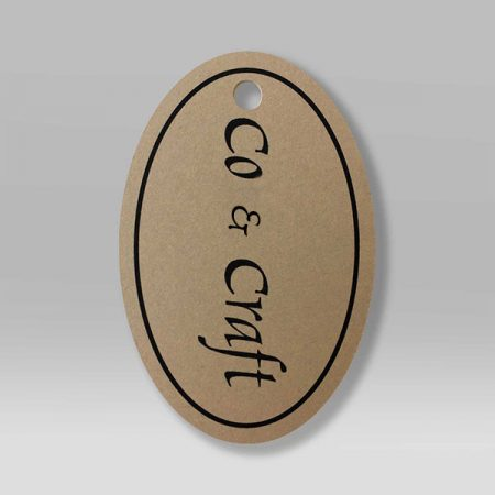 Oval Hang Tags