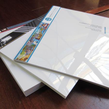 Plastic Binding Booklet