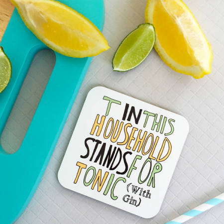 Printed Tea Coaster