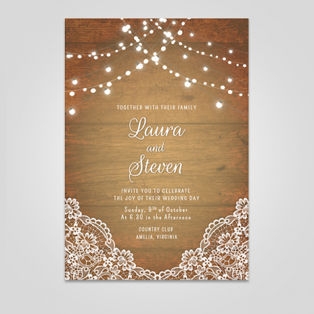 Printed Wooden Cards