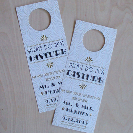 Rectangular Door Hangers