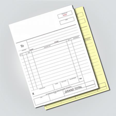 Invoice Pad