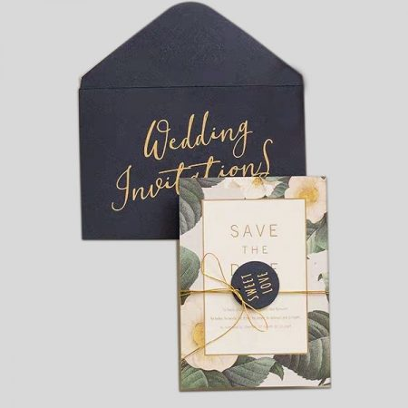 Foil Wedding Cards