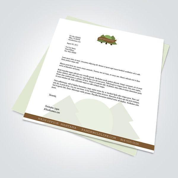 Legal Size letterhead