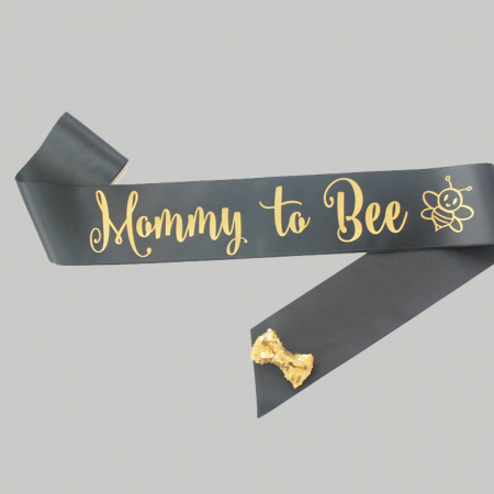 Mommy-To-Be Sash