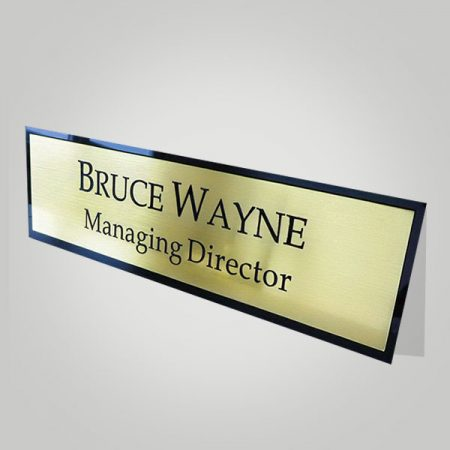 Office Name Plate